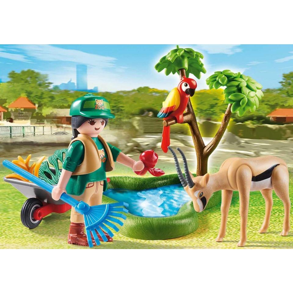 Obrázek 1 produktu Playmobil 70295 Ošetřovatelka v ZOO