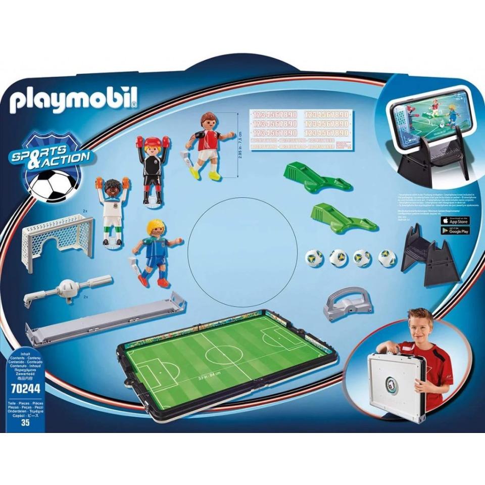 Obrázek 1 produktu Playmobil 70244 Velká přenosná fotbalová aréna