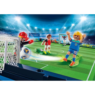 Obrázek 3 produktu Playmobil 70244 Velká přenosná fotbalová aréna