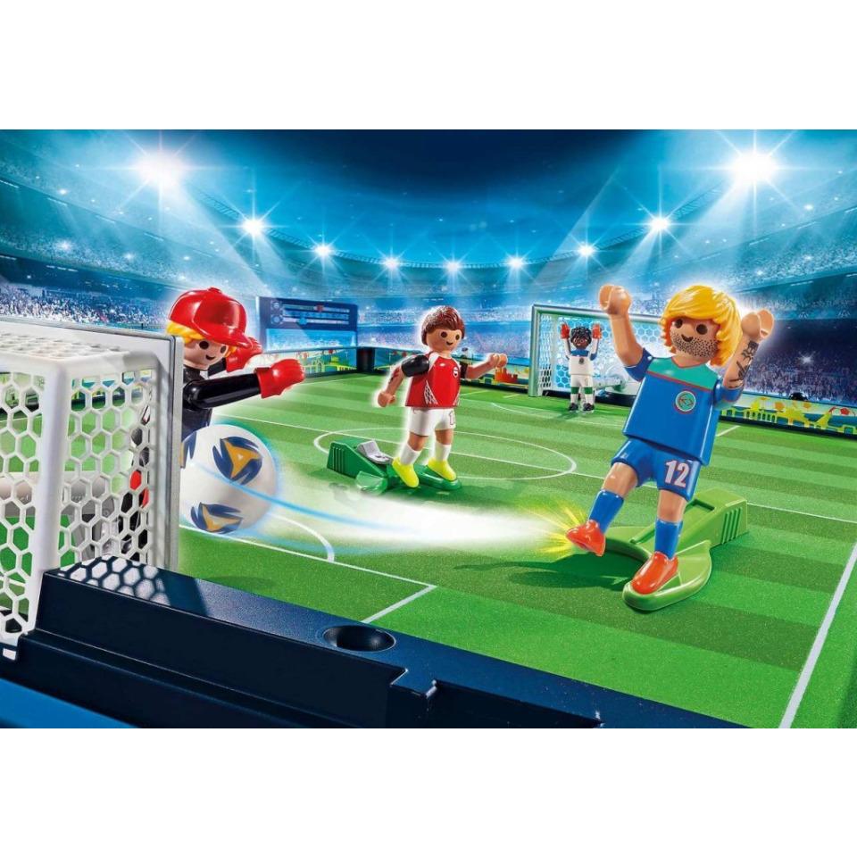 Obrázek 2 produktu Playmobil 70244 Velká přenosná fotbalová aréna