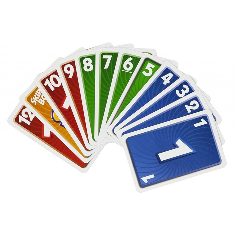 Obrázek 2 produktu Mattel Skip-Bo karetní hra, 52370