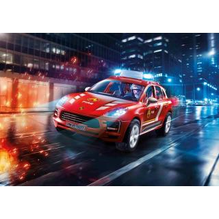 Obrázek 2 produktu Playmobil 70277 Porsche Macan S Hasiči