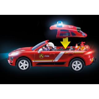 Obrázek 4 produktu Playmobil 70277 Porsche Macan S Hasiči