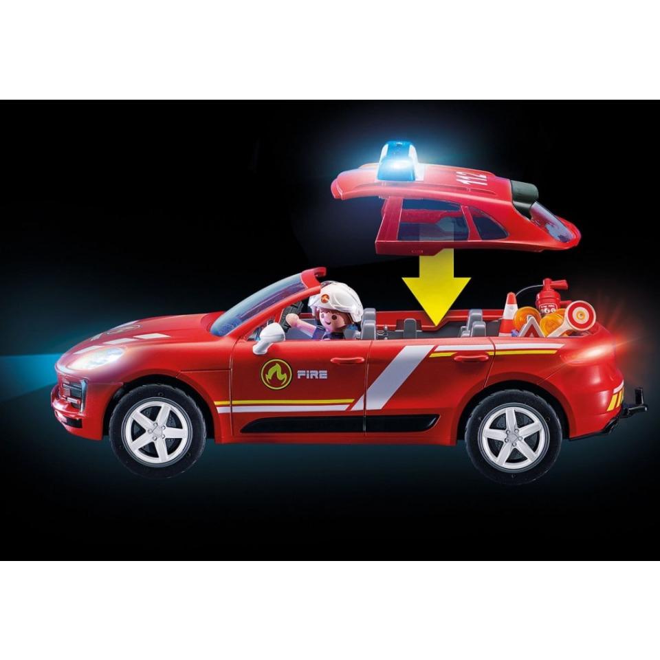 Obrázek 3 produktu Playmobil 70277 Porsche Macan S Hasiči