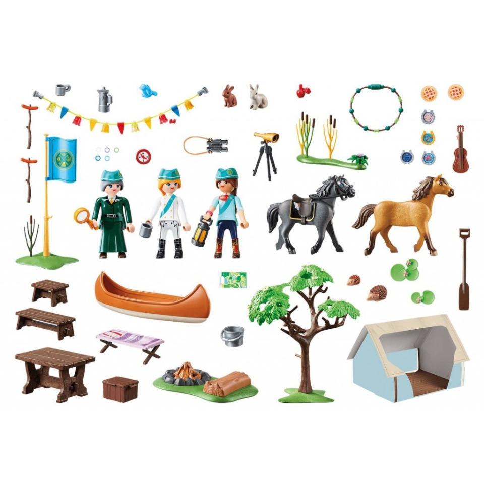 Obrázek 1 produktu Playmobil 70329 Letní kemp