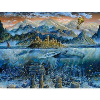 Obrázek 2 produktu Ravensburger 16464 Puzzle Moudrá velryba 2000 dílků