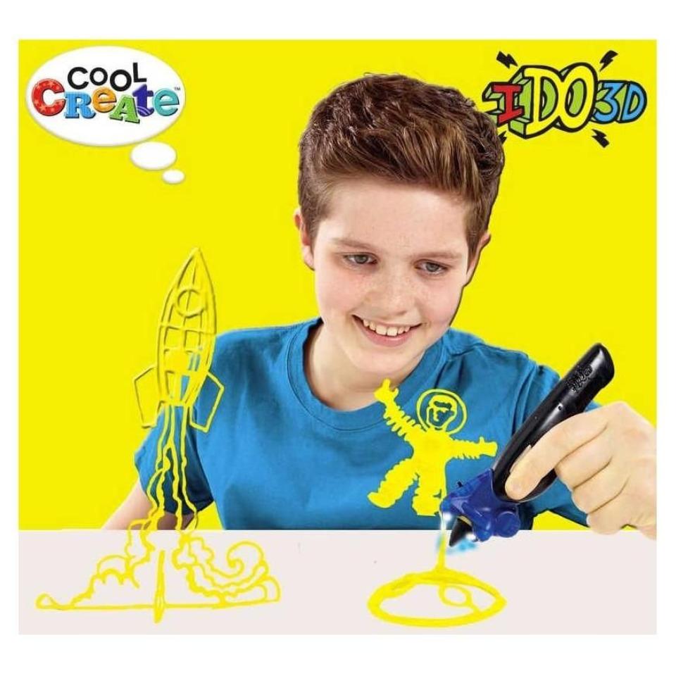 Obrázek 1 produktu IDO3D Vertical: 1 pero neonově žlutá