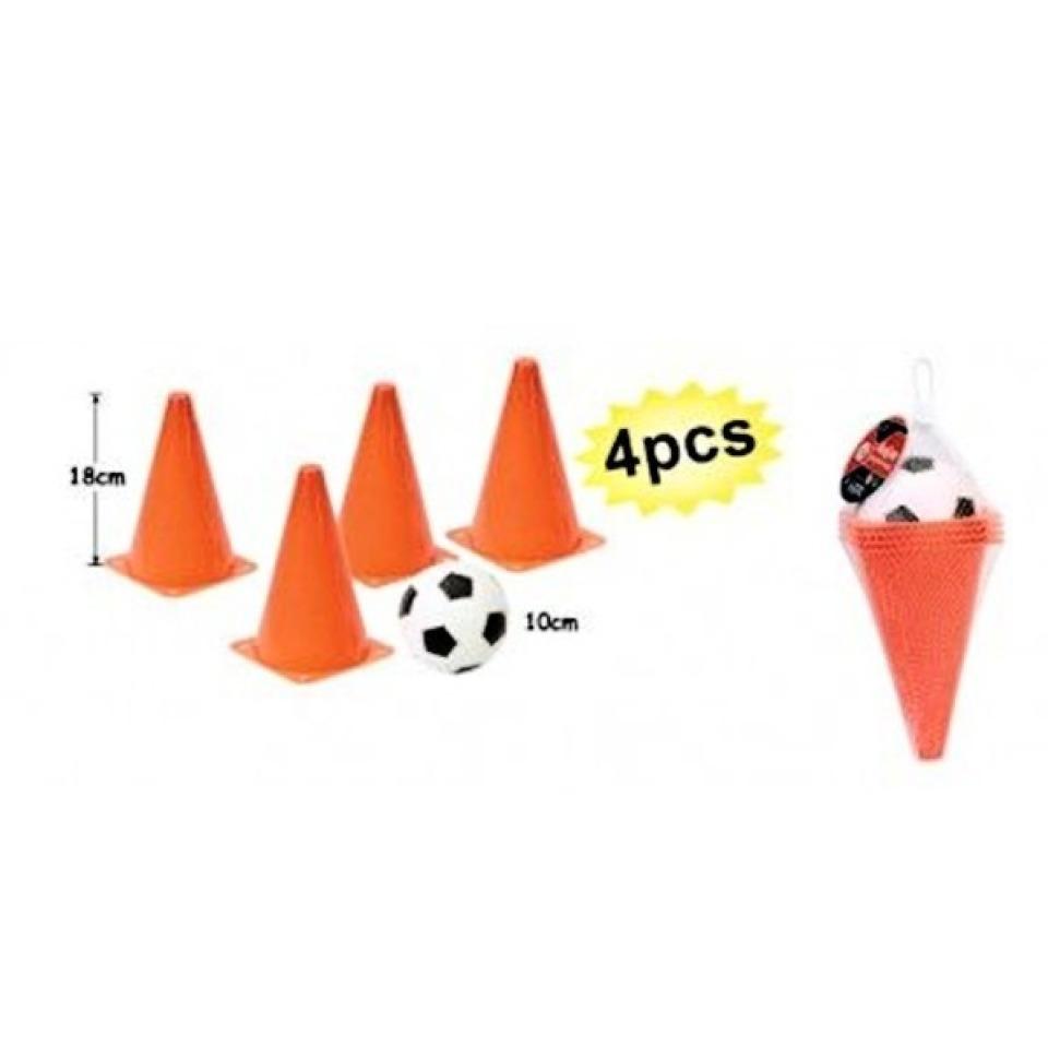 Obrázek 1 produktu Kužely oranžové s fotbalovým míčkem
