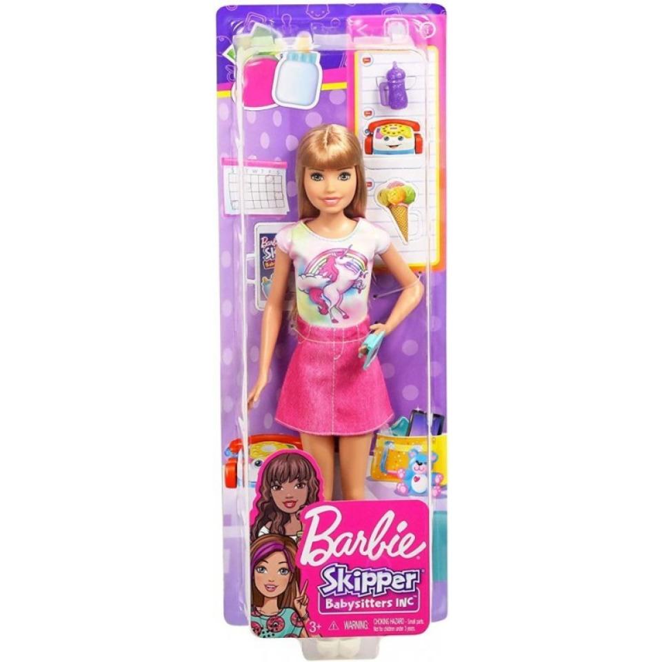 Obrázek 3 produktu Barbie Skipper Chůva Blondýnka, Mattel FXG91