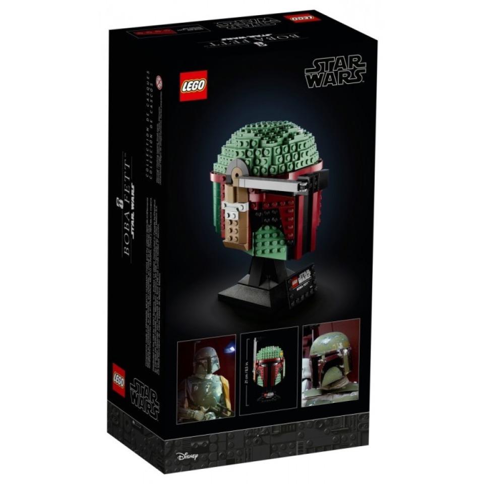 Obrázek 1 produktu LEGO Star Wars 75277 Helma Boby Fetta