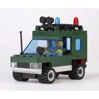 Obrázek 2 produktu CHEVA 45 Armáda Motorota, Jeep vojenský s dělem