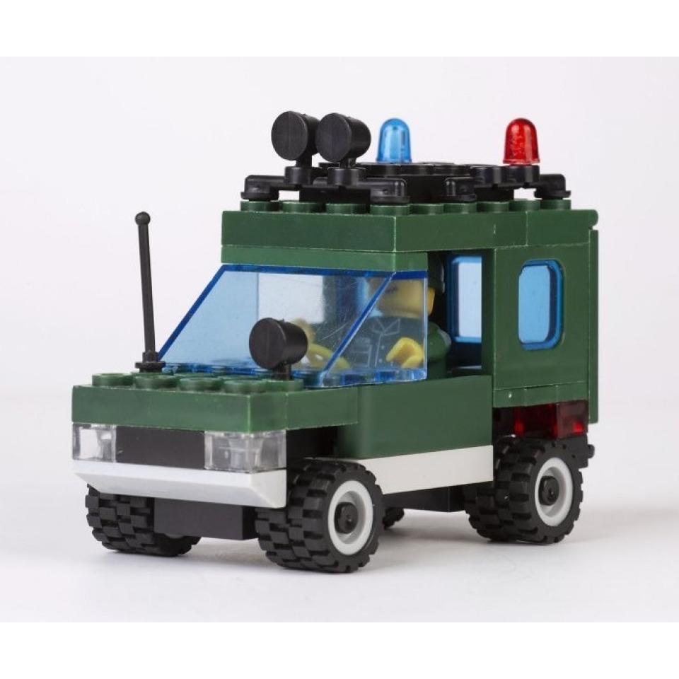 Obrázek 1 produktu CHEVA 45 Armáda Motorota, Jeep vojenský s dělem