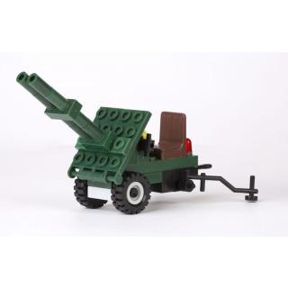 Obrázek 3 produktu CHEVA 45 Armáda Motorota, Jeep vojenský s dělem