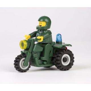 Obrázek 4 produktu CHEVA 45 Armáda Motorota, Jeep vojenský s dělem
