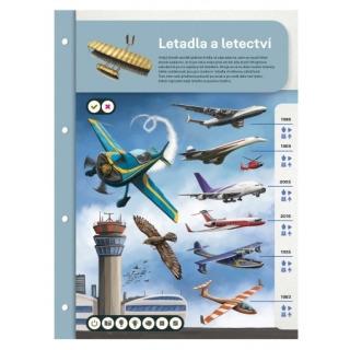 Obrázek 2 produktu Albi Kouzelné čtení Dvoulist - Letadla a letectví