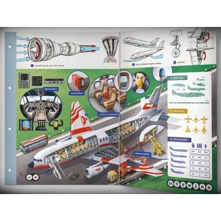 Obrázek 3 produktu Albi Kouzelné čtení Dvoulist - Letadla a letectví