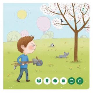 Obrázek 4 produktu Albi Kouzelné čtení Minikniha - Jaro