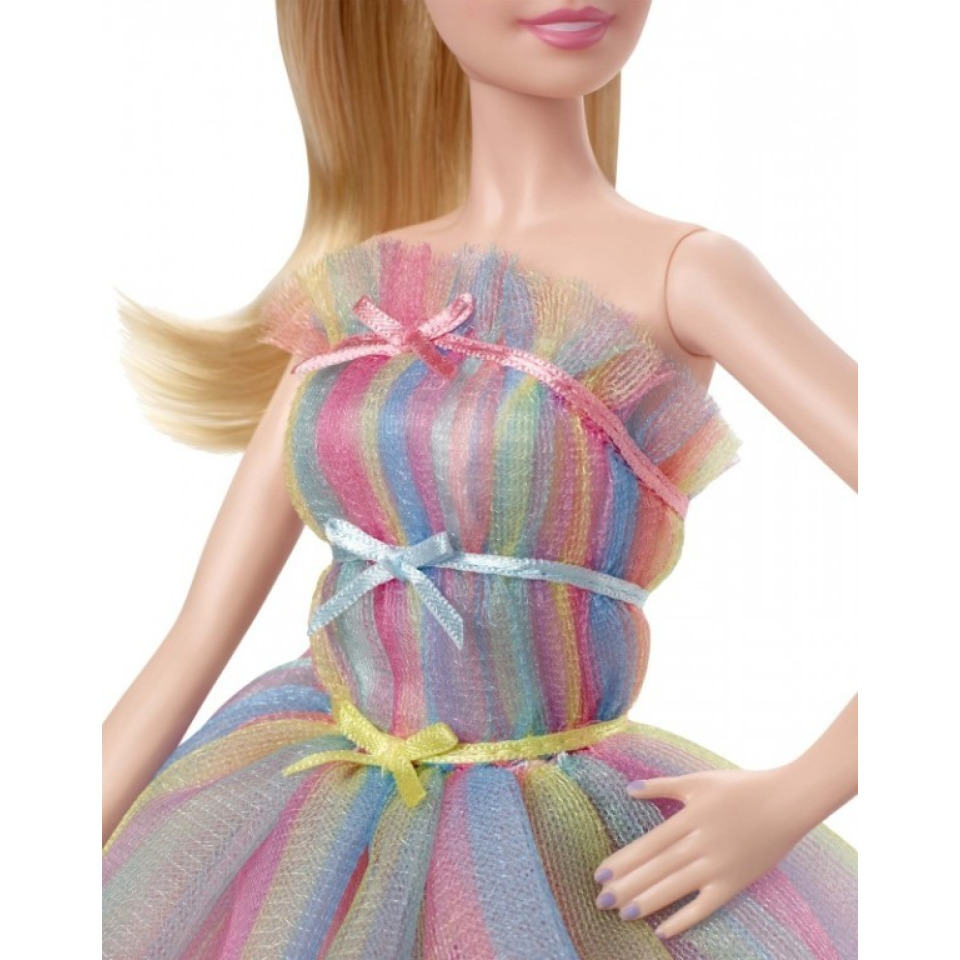 Obrázek 3 produktu Barbie Sběratelská Narozeninová Barbie, Mattel GHT42