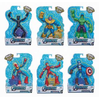 Obrázek 3 produktu Avengers figurka Bend and Flex CAPTAIN AMERICA, Hasbro E7869