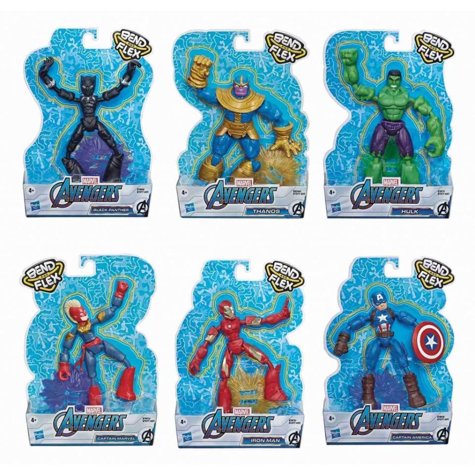 Obrázek 2 produktu Avengers figurka Bend and Flex CAPTAIN AMERICA, Hasbro E7869