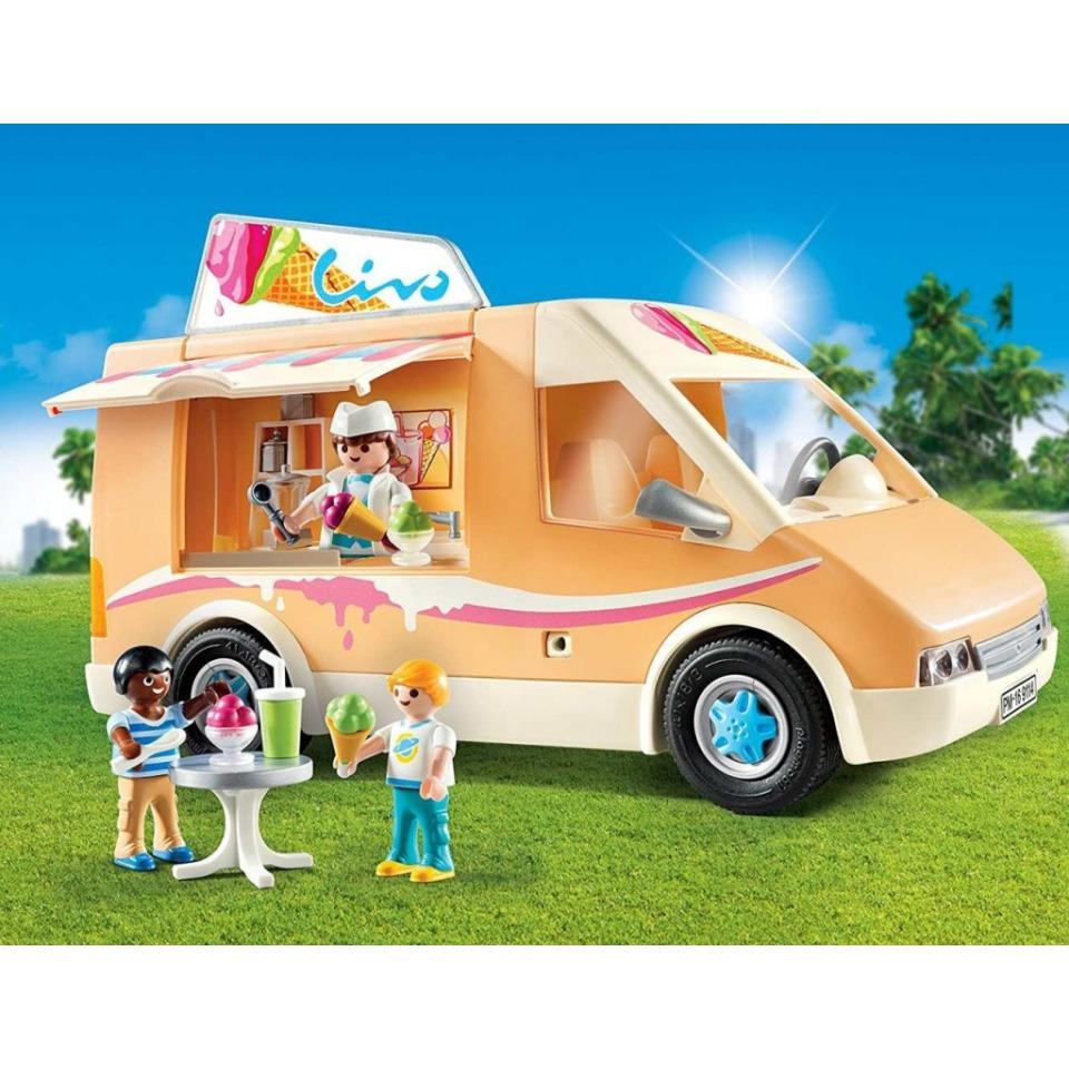 Obrázek 1 produktu Playmobil 9114 Zmrzlinářské auto