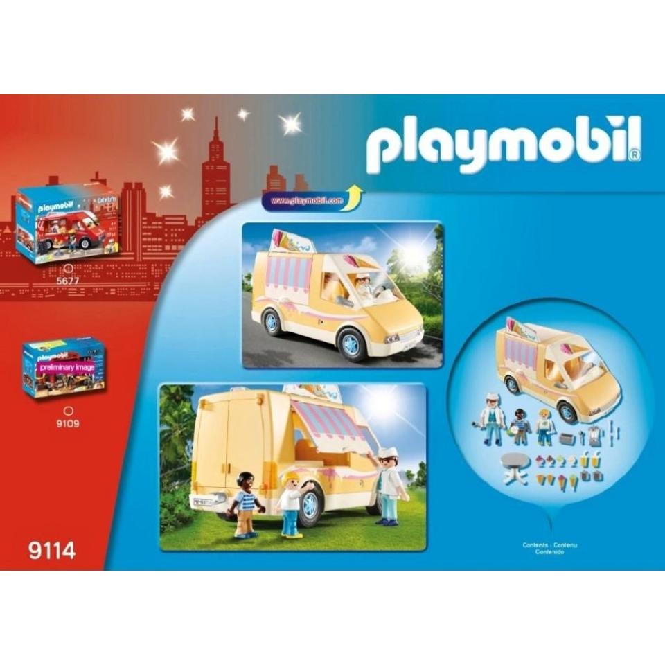 Obrázek 3 produktu Playmobil 9114 Zmrzlinářské auto
