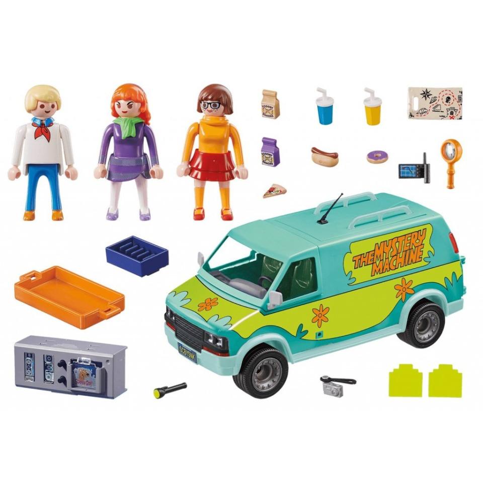 Obrázek 1 produktu Playmobil 70286 SCOOBY-DOO! Mystery machine