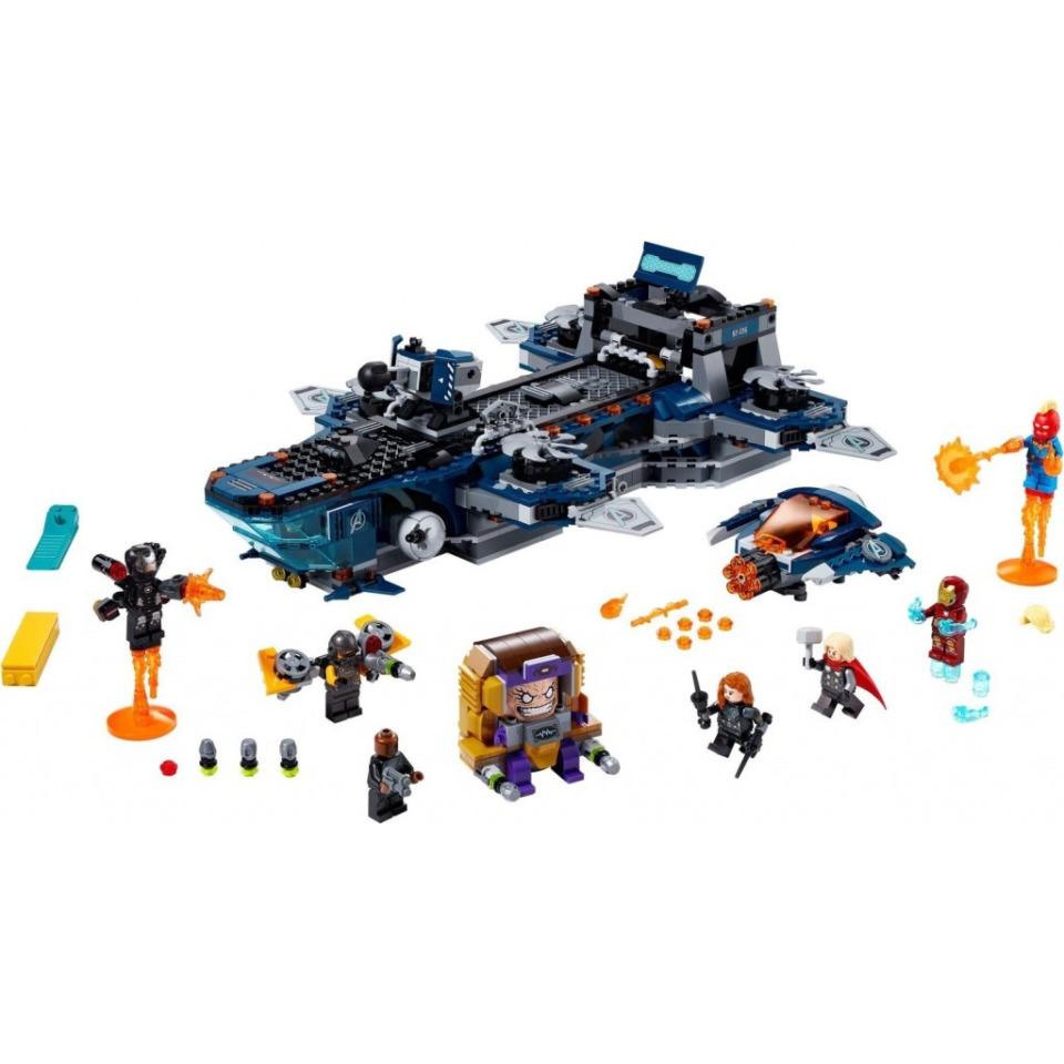 Obrázek 2 produktu LEGO Super Heroes 76153 Helicarrier Avengerů