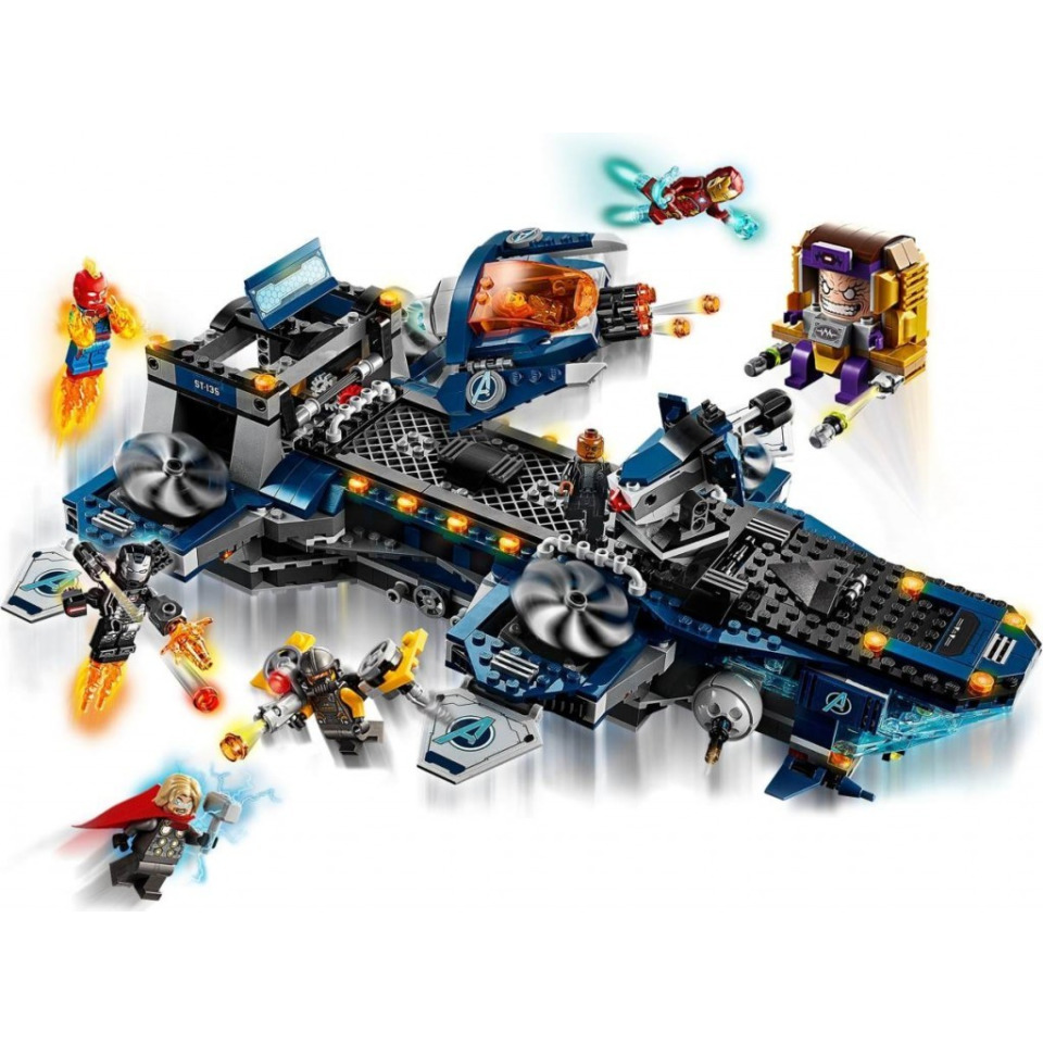 Obrázek 3 produktu LEGO Super Heroes 76153 Helicarrier Avengerů