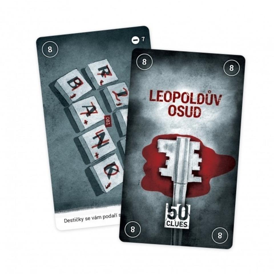 Obrázek 1 produktu Albi Mozkovna Detektivní únikovka Leopold - 3.díl Leopoldův osud