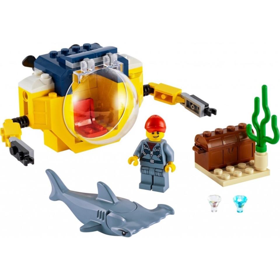 Obrázek 2 produktu LEGO CITY 60263 Oceánská mini ponorka