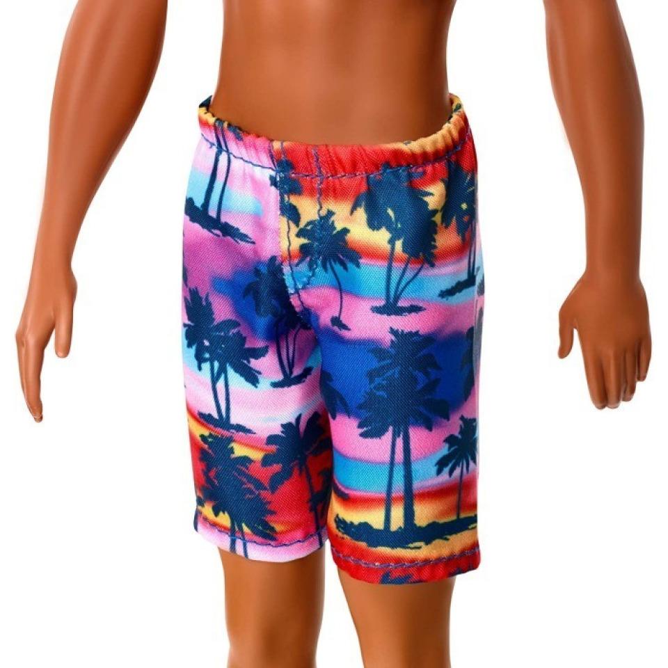 Obrázek 2 produktu Barbie Ken ve vzorovaných plavkách černoch, Mattel GHW44