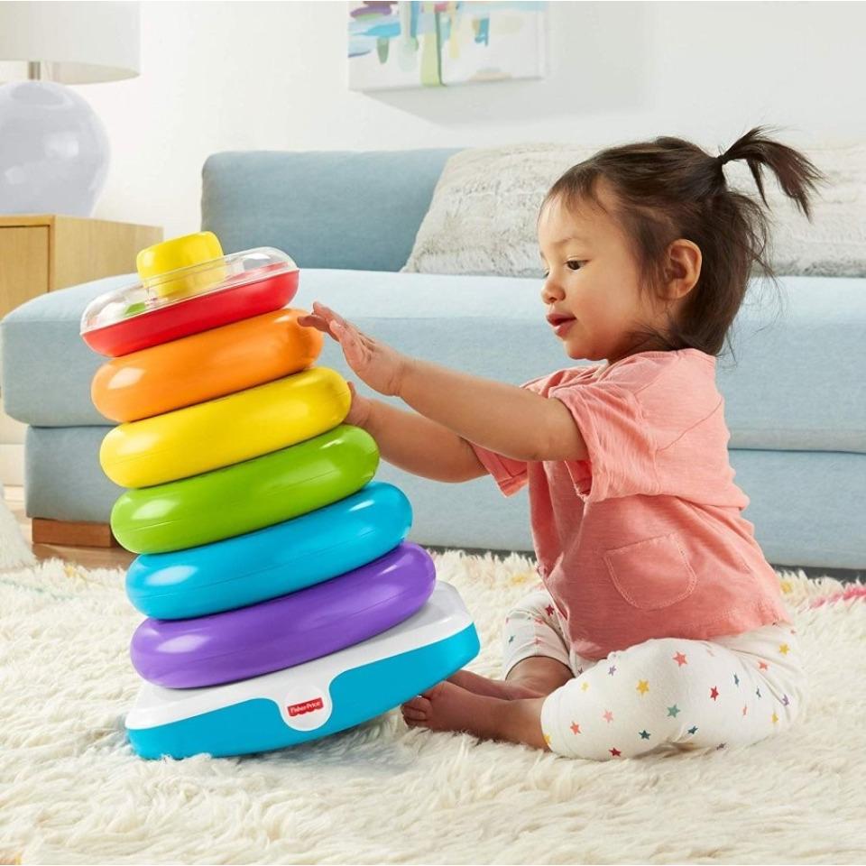 Obrázek 2 produktu Fisher Price Obří kroužky na tyči, Mattel GJW15