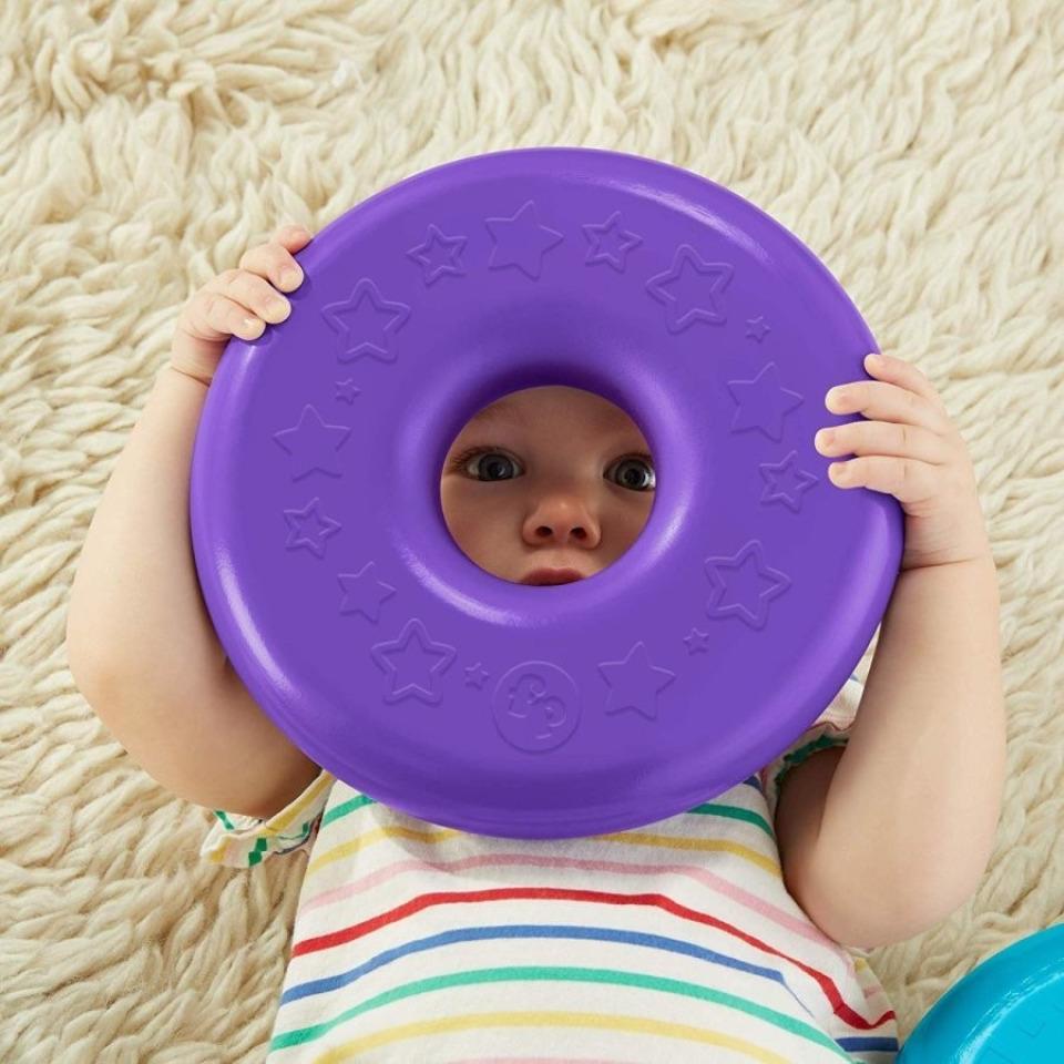 Obrázek 3 produktu Fisher Price Obří kroužky na tyči, Mattel GJW15