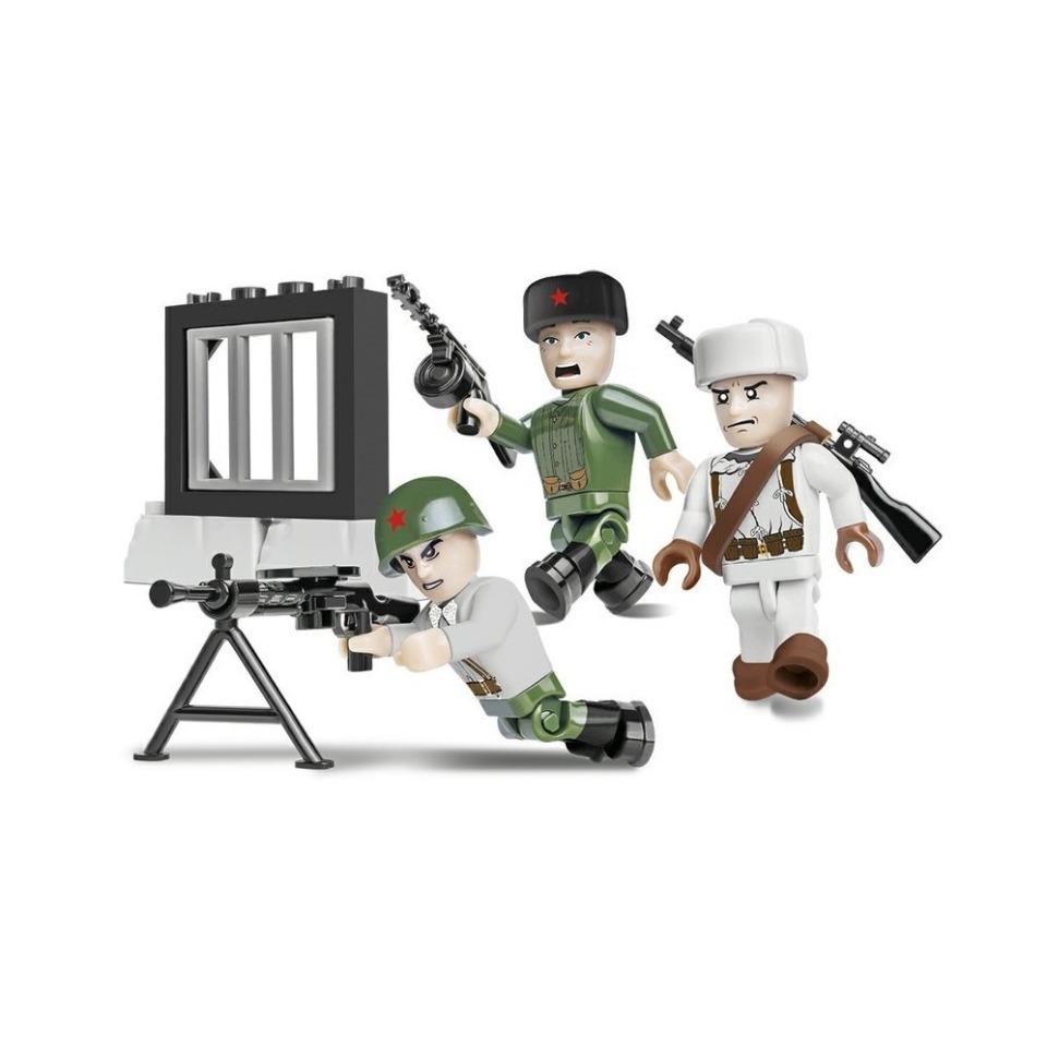 Obrázek 1 produktu Cobi 2032 SMALL ARMY – 3 figurky s doplňky Sovětská armáda