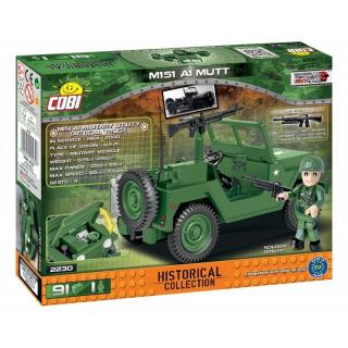 Obrázek 3 produktu Cobi 2230 Vietnam War Terénní automobil 151 A1 MUTT