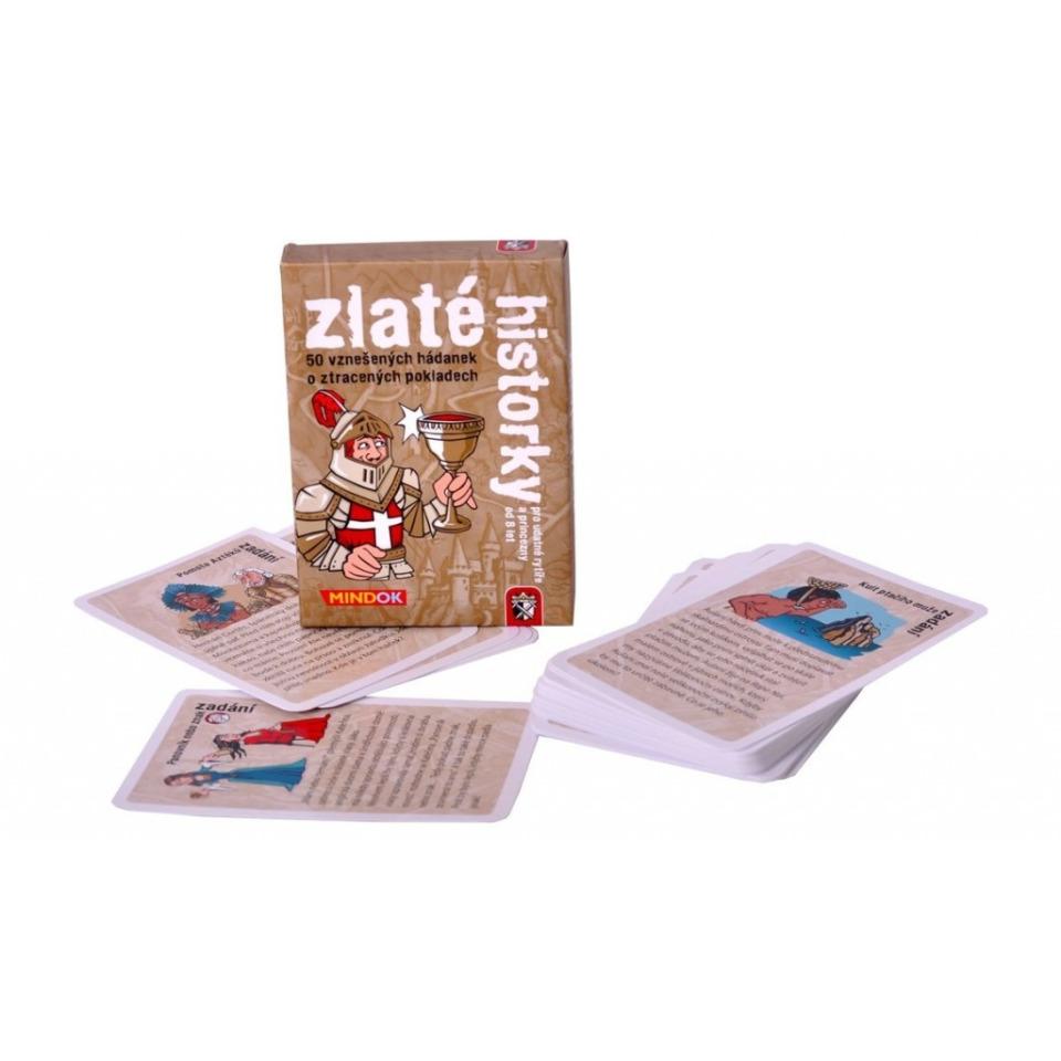 Obrázek 1 produktu Mindok Zlaté historky, karetní hra