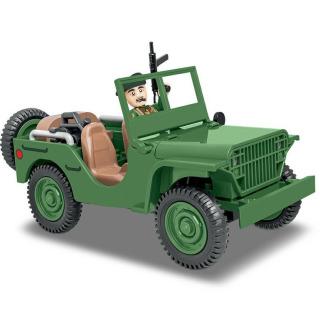 Obrázek 2 produktu Cobi 2400 SMALL ARMY II WW: terénní automobil Ford GP, 91 k, 1 f
