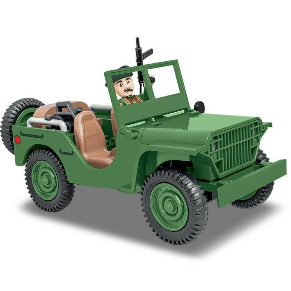 Obrázek 1 produktu Cobi 2400 SMALL ARMY II WW: terénní automobil Ford GP, 91 k, 1 f