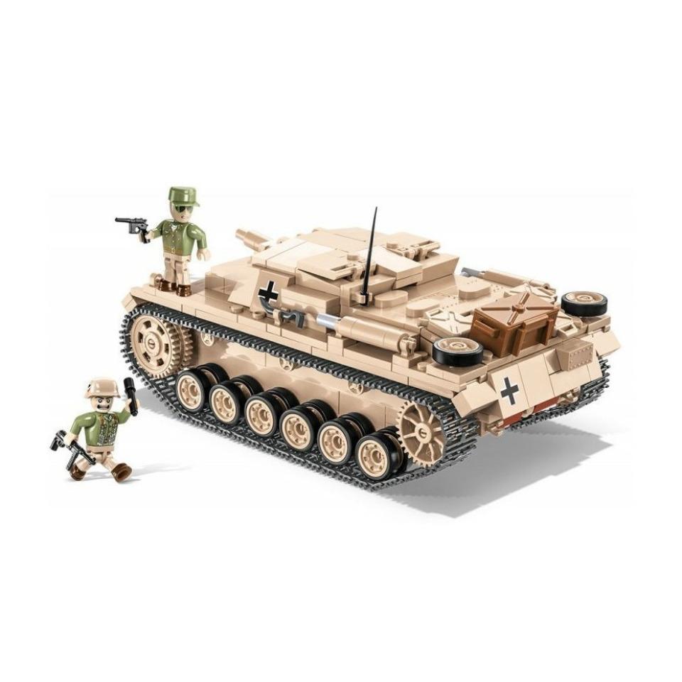 Obrázek 1 produktu Cobi 2529 SMALL ARMY – Sturmgeschütz III Ausf. D