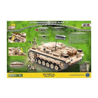 Obrázek 5 produktu Cobi 2529 SMALL ARMY – Sturmgeschütz III Ausf. D