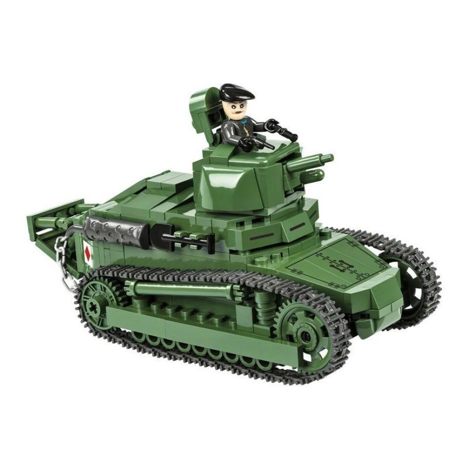 Obrázek 1 produktu COBI 2973 Great War Tank Renault FT-17