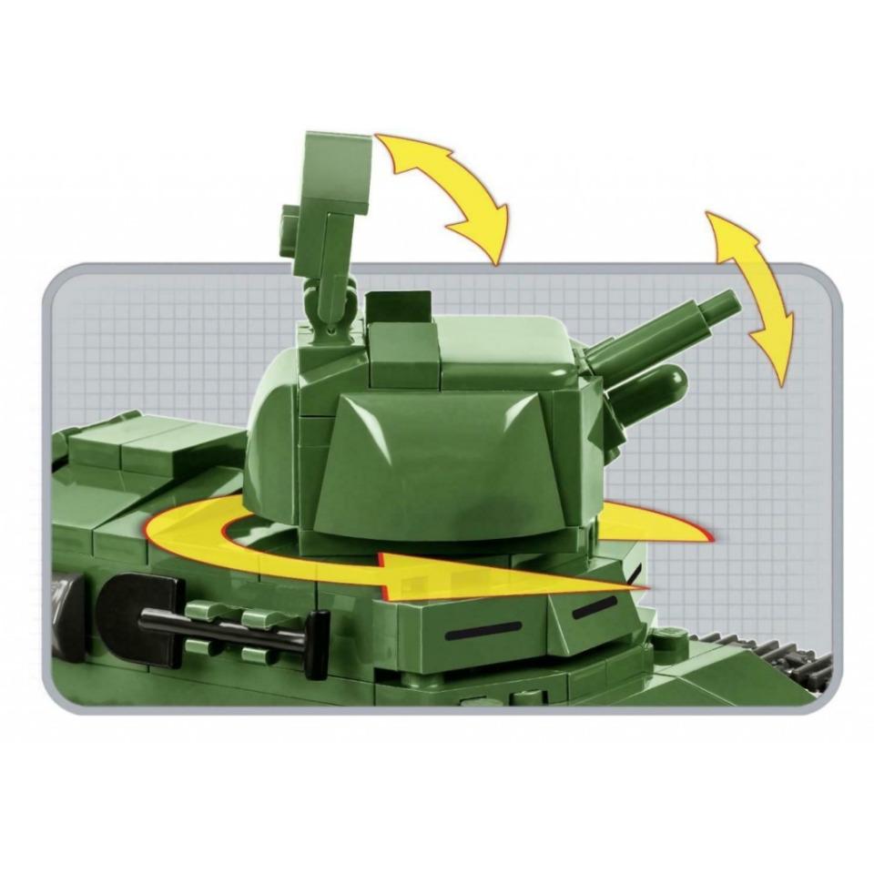 Obrázek 2 produktu COBI 2973 Great War Tank Renault FT-17