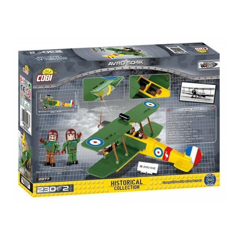 Obrázek 4 produktu Cobi 2977 Great War Avro 504K
