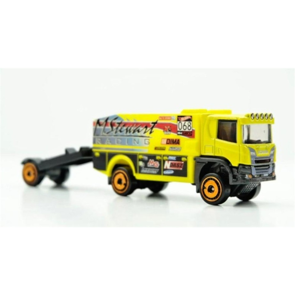 Obrázek 1 produktu Hot Wheels dráhový tahač Scania Rally Truck, GKC33