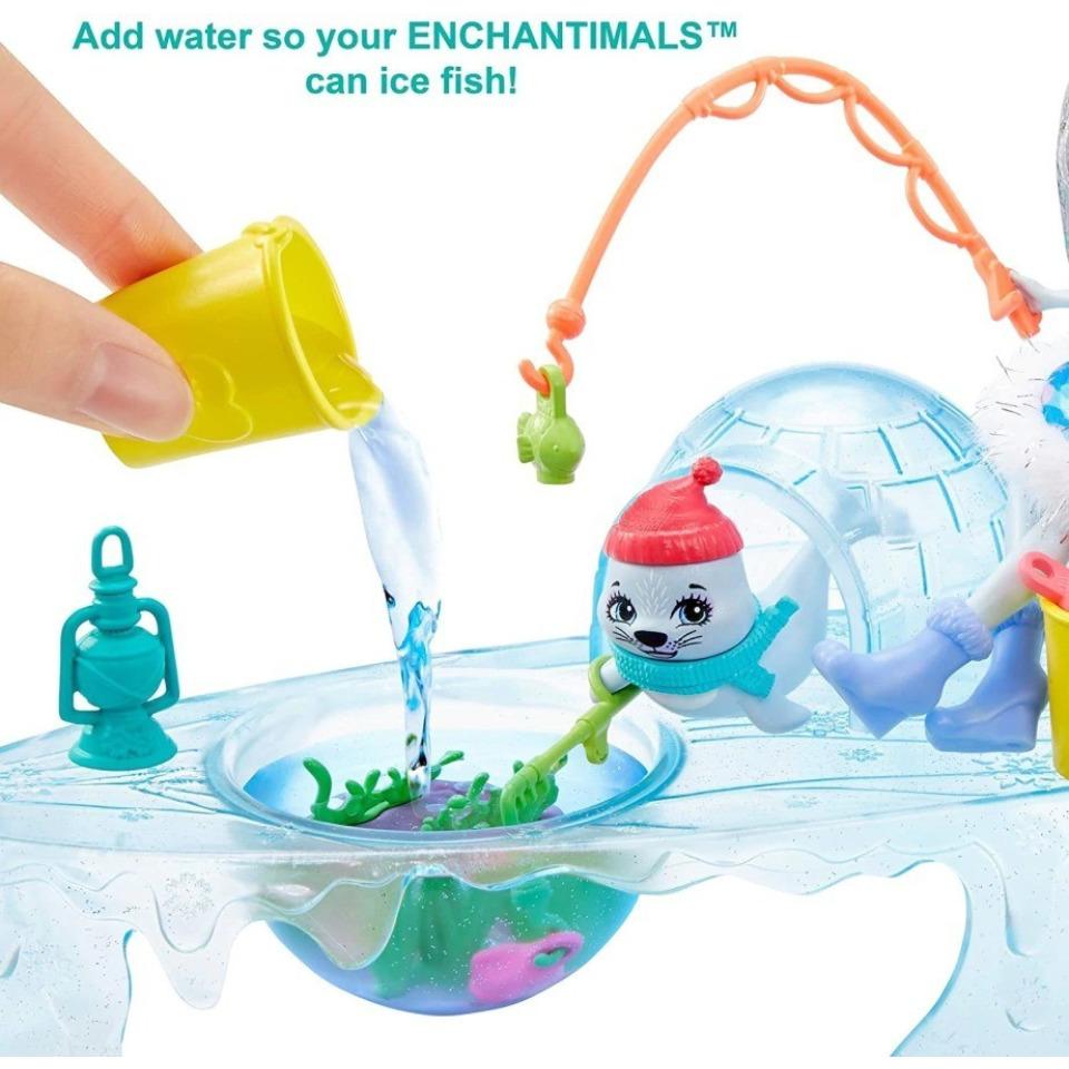 Obrázek 2 produktu ENCHANTIMALS Zimní rybolov, Mattel GJX48