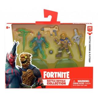 Obrázek 2 produktu Fortnite Battle Royal sada sběratelských figurek Battle Hound a Flytrap, 5 cm