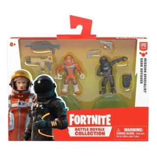 Obrázek 2 produktu Fortnite Battle Royal sada sběratelských figurek Mission Specialist a Dark Voyager, 5 cm