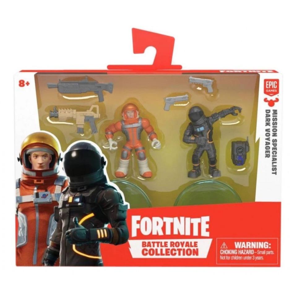 Obrázek 1 produktu Fortnite Battle Royal sada sběratelských figurek Mission Specialist a Dark Voyager, 5 cm