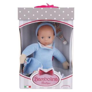Obrázek 2 produktu Panenka Bambolina miminko v modrém pyžámku 33cm